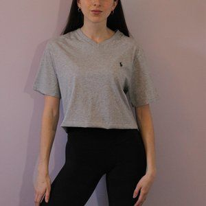 NWT Polo by Ralph Lauren Cropped Tee